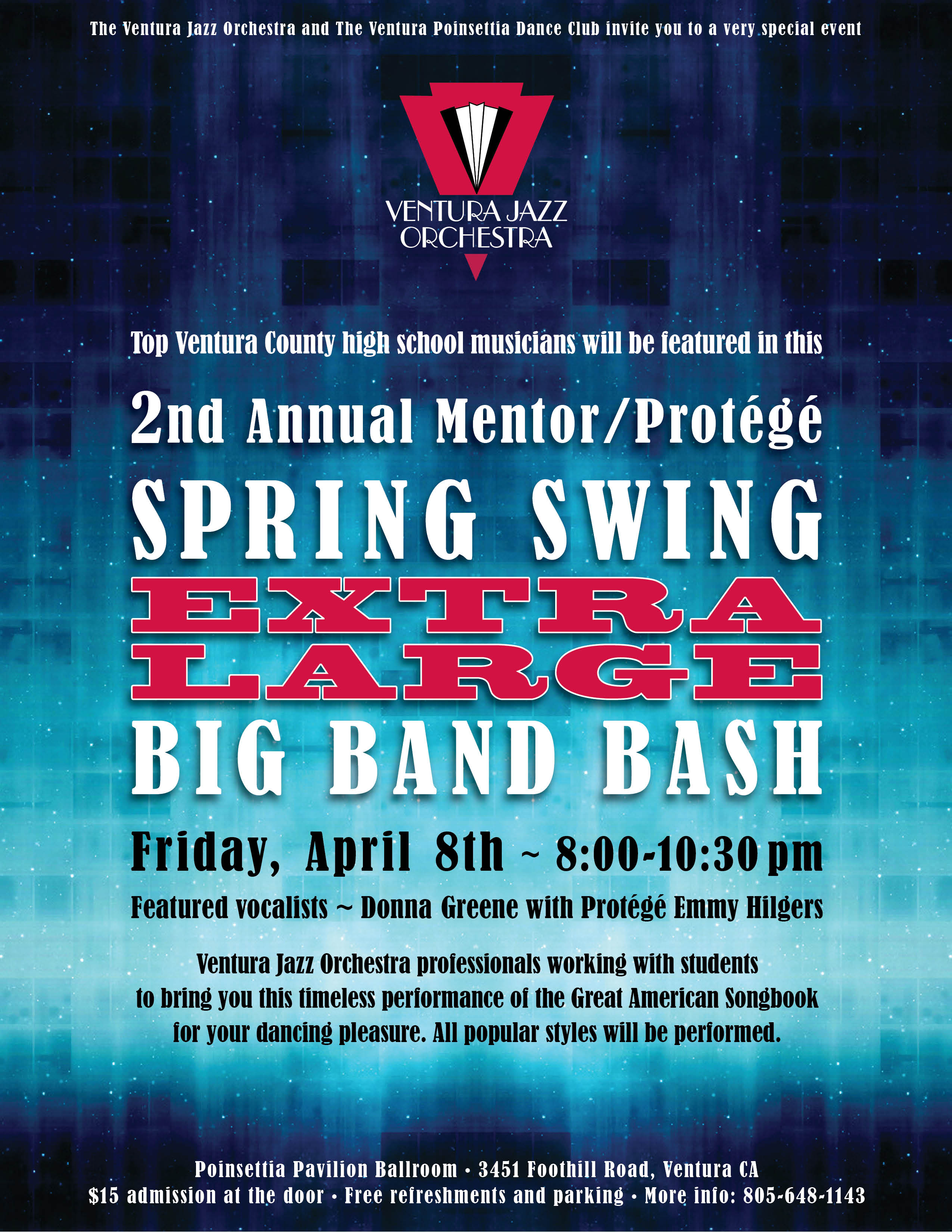 2nd Annual Mentor/Protege Extra Large Big Band Bash
