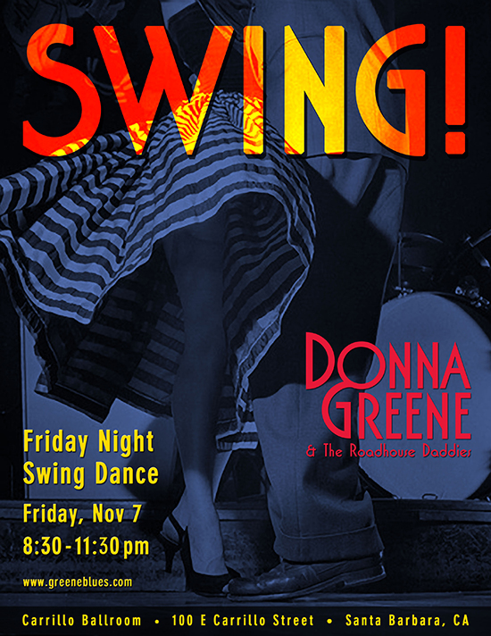Donna Greene & The Roadhouse Daddies Swing Dance