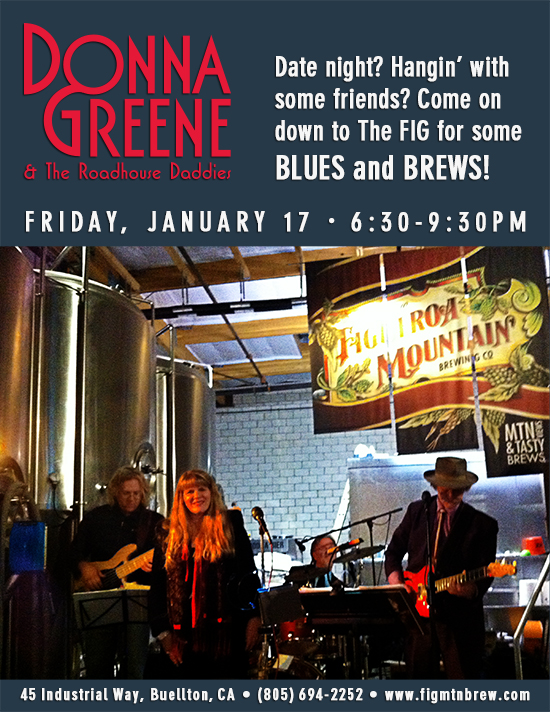 Donna Greene & The Roadhouse Daddies @ Figueroa Mountain Brewing