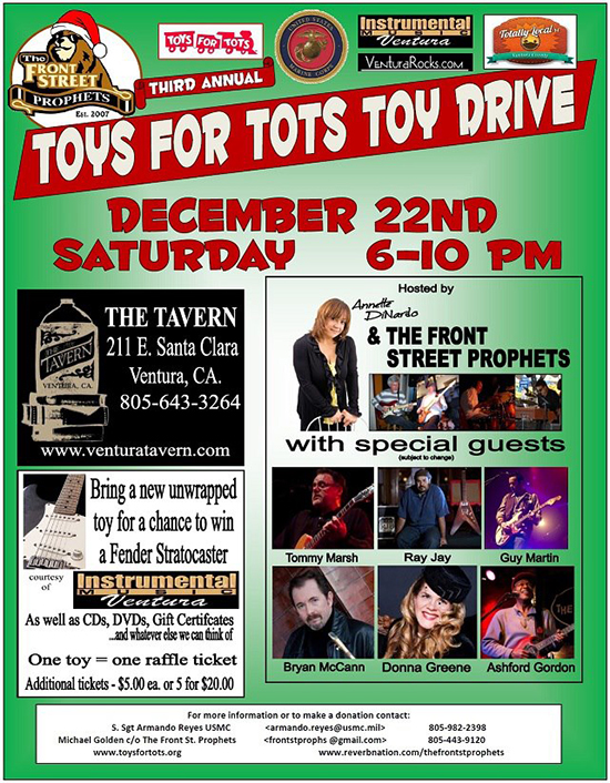 Toys for Tots Benefit